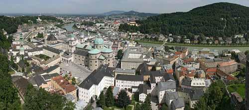 Panoramica de Salzburgo