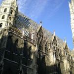 Catedral gótica de San Esteban en Viena