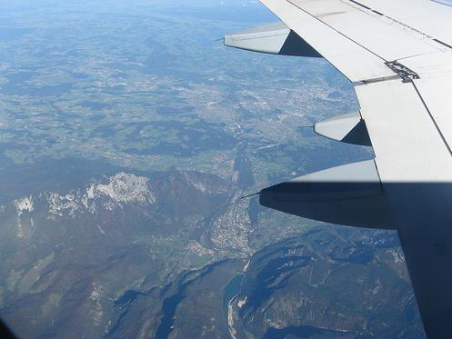Volando a Austria