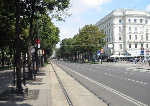 Ringstraße en Viena