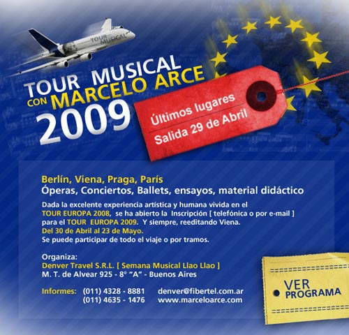 Tour musical en Viena