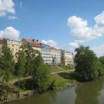 El Canal de Danubio en Viena