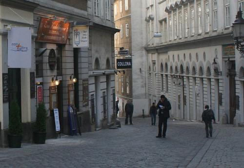 judengasse-barrio judio viena