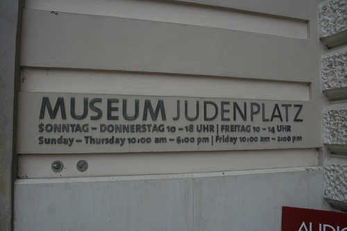 museo judenplatz