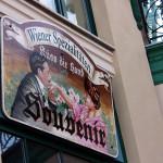 Comprar souvenirs en Viena