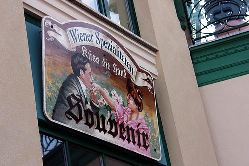 souvenirs en Viena