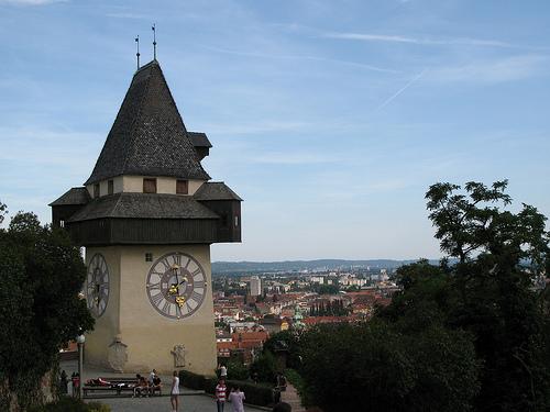 Schlossberg en Graz