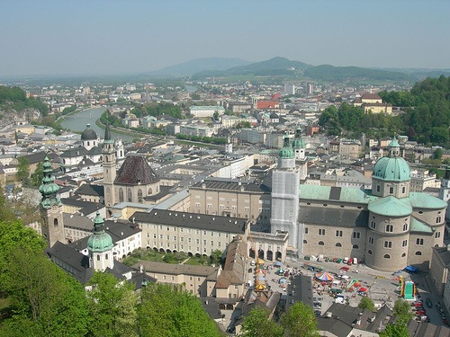 Centro histórico Salzburgo