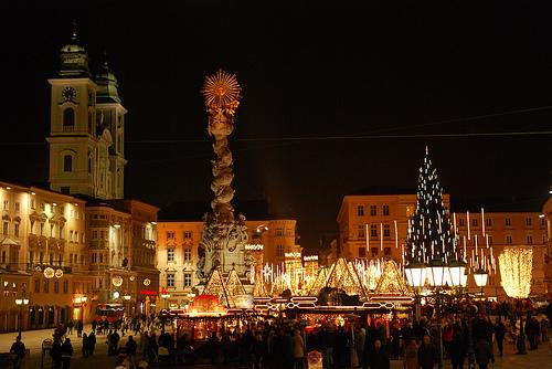 Linz de noche
