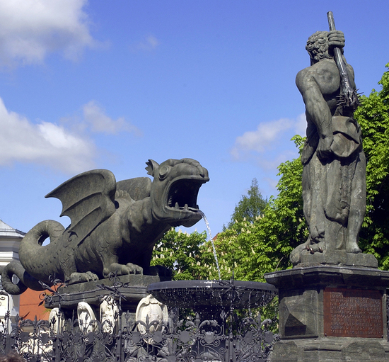 Dragon en Klagenfurt