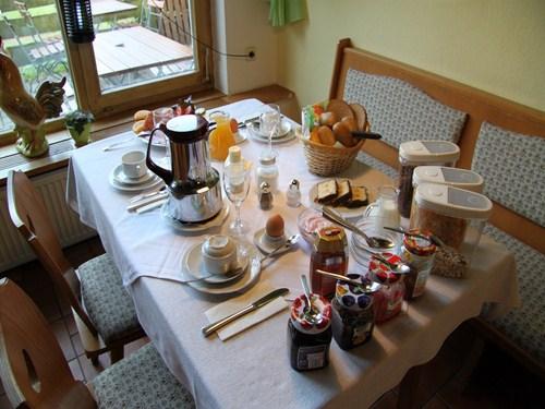 Desayuno en Austria