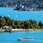 El lago Wörthersee y su leyenda religiosa