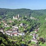 La aldea de Hardegg y su castillo medieval