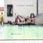 Hombres desnudos, exposición en el Museo Leopold de Viena