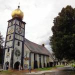 Iglesia de Santa Bárbara, un diseño poco convencional