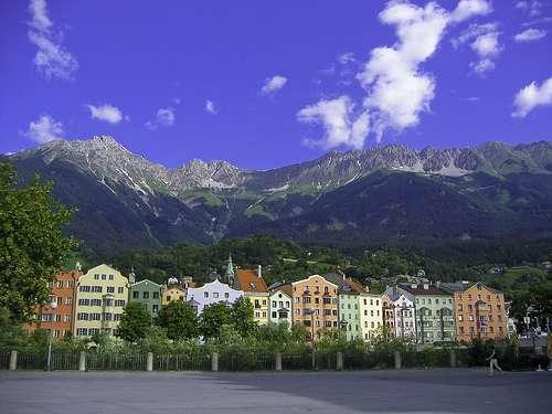 Montañas de Innsbruck