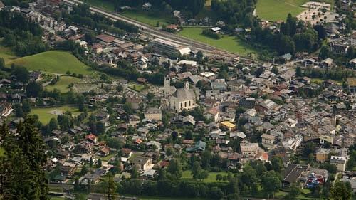 vista de Kitzbuhel