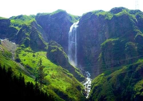 La cascada de Schleierfall