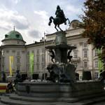 La fuente Leopoldsbrunnen, en Innsbruck
