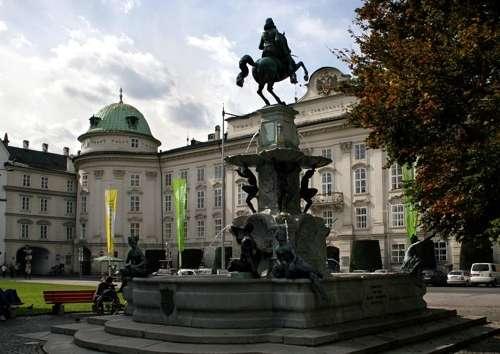 La fuente Leopoldsbrunnen