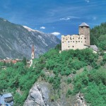 El castillo de Landeck vigía del Tirol