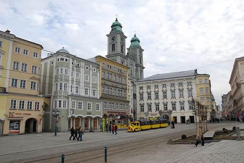 Centro histórico de Linz