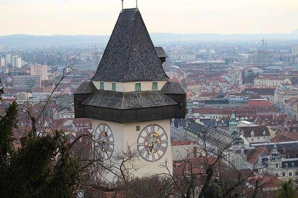 Torre del Reloj en Graz