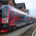 Trenes Railjet para viajar a Austria