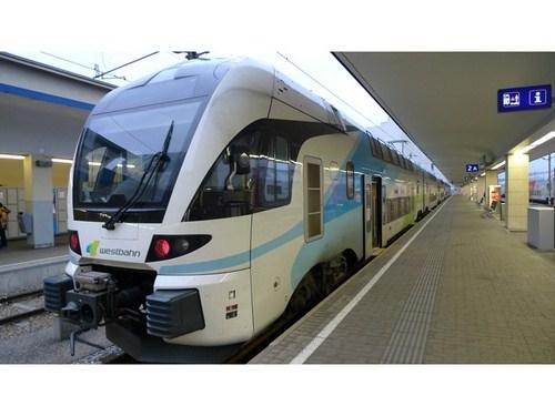 Tren en Salzburgo