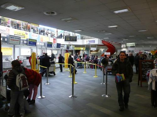 Interior del Aeropuerto de Klagenfurt