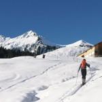 Vacaciones de invierno en Au-Schoppernau