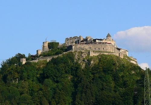 Castillo Landskron en Villach