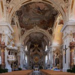 Basílica Wilten, iglesia rococó en Innsbruck