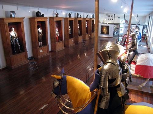 Colección de Armaduras en el Castillo de Ambras