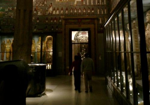 Coleccion egipcia en el Museo de bellas artes de Viena