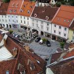 Turismo en el centro histórico de Wolfsberg