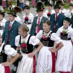 Dirndlkleid o Dirndl, vestidos tradicionales