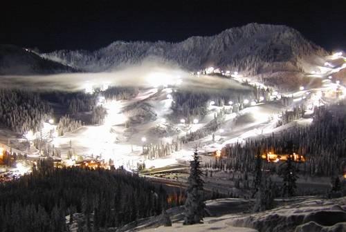 Esqui nocturno
