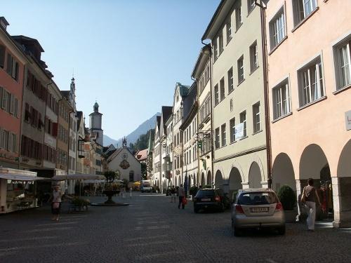 Calles historicas de Feldkirch