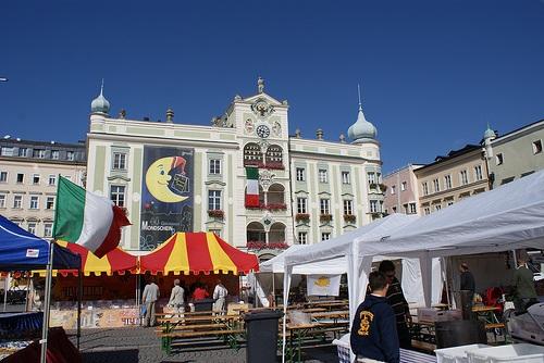 Plazoleta del Ayuntamiento en Gmunden