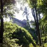 Las ruinas del Castillo de Gösting
