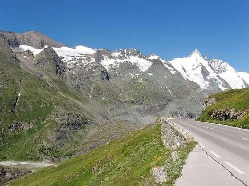 Grossglockner-Hochalpenstrasse en Austria