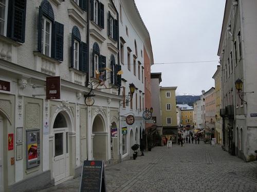 Calles de Hallein