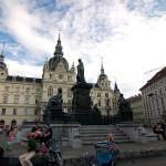 Hauptplatz, la plaza principal de Graz