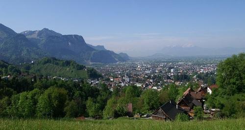 Vista de Hohenems