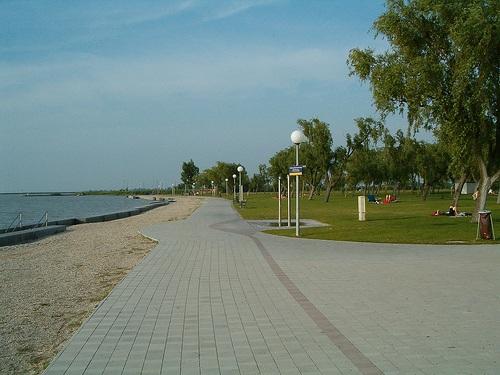 Lago Neusiedl en Illmitz