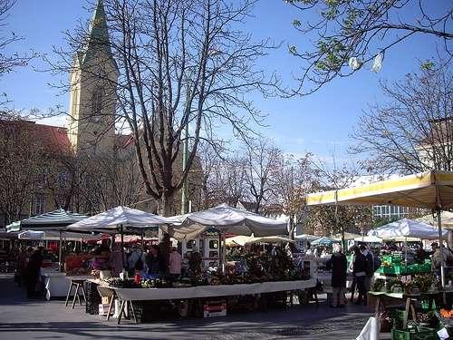 Mercado Kaiser Josef en Graz