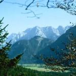 Naturaleza en la cadena montañosa de Karwendel