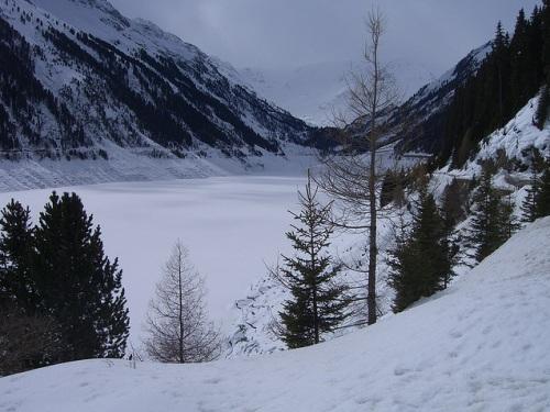 Nieve en Kaunertal