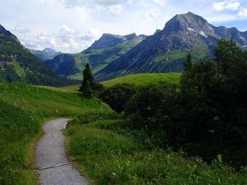 Campos alrededores de Lech